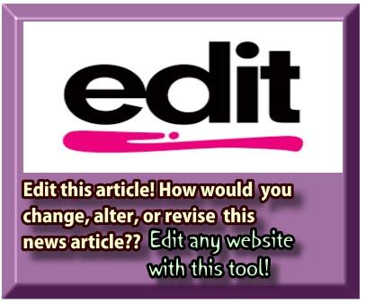 Web Editing Tool