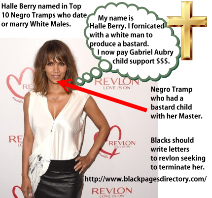 Negro Tramp Halle Berry